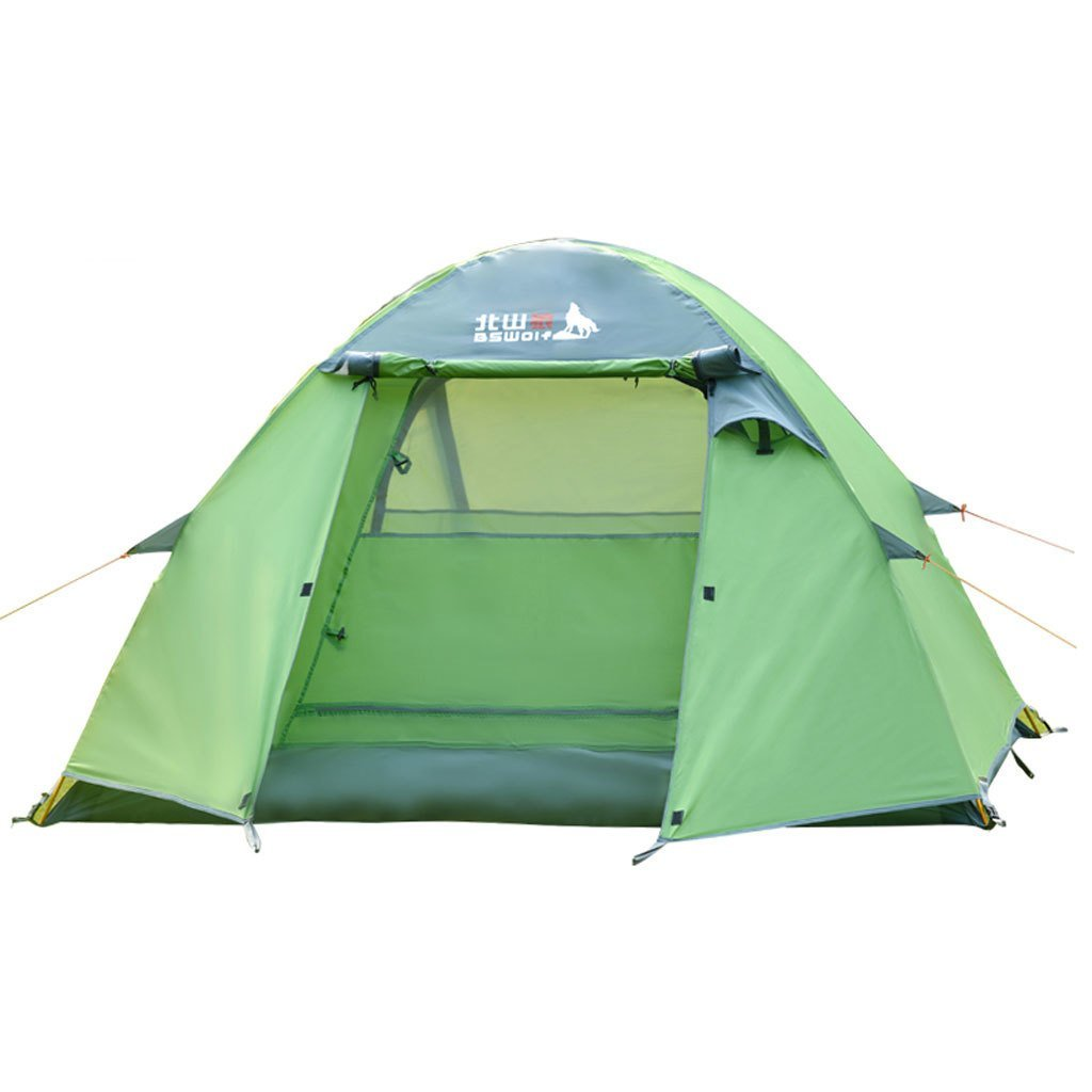 Outdoor-Camping-Zelt 3-4 Personen Multiplayer regen Jahreszeiten Zelt Licht Zelt Pole