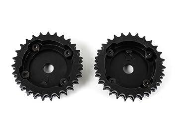 nocke Ondas Cadenas ruedas ajustable Set VR6 Turbo 2,8 2,9 AAA abv: Amazon.es: Coche y moto