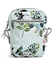 Vera Bradley Performance Twill Small Convertible Crossbody Purse with RFID Protection