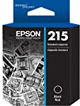 Epson 215 DURABrite Ultra Standard Capacity Ink Cartridge, Black (T215120)