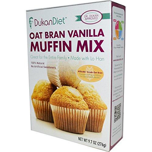 Dukan Diet, Oat Bran Vanilla Muffin Mix, 9.7 oz (276 g) Dukan Diet, Oat Bran Vanilla Muffin Mix, 9.7 oz (276 g)