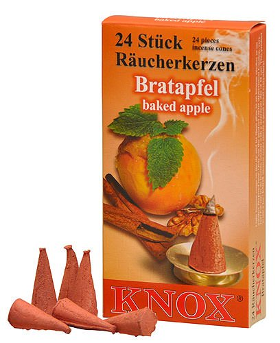 Pie Incense - KNOX Incense Cones, Baked Apple (Large)