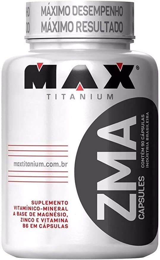 ZMA 90 cápsulas - Max Titanium por MAX