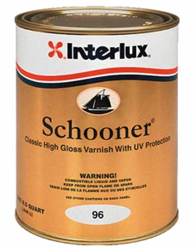 Interlux Y96/QT Schooner Varnish - Quart