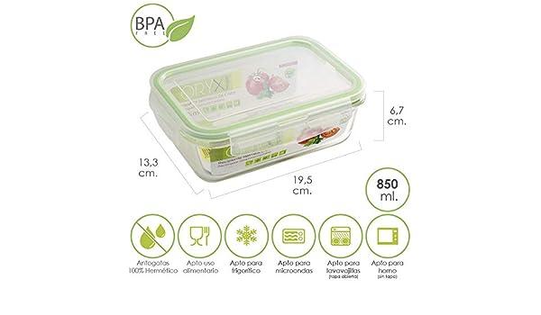Amazon.com: ORYX Storage Container, 850 ml, Green, 14 x 19 x ...