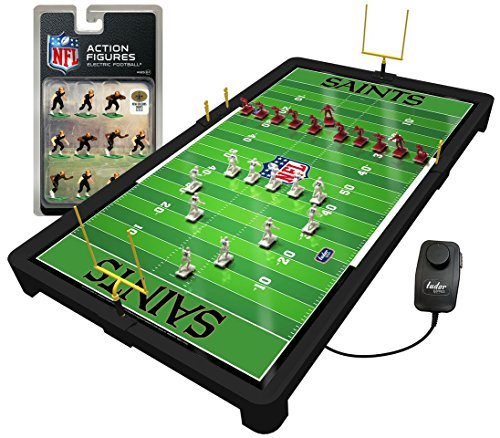 - New Orleans Saints NFL Electric Football Game