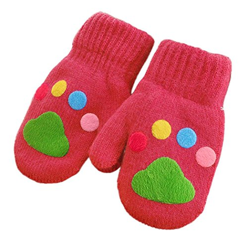 [Mikey Store Infant Baby Girls Boys Winter Warm Gloves (Watermelon)] (Old Navy Halloween Costumes Elephant)