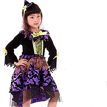00f0715a19ebc ハロウィン衣装 子供 魔女 悪魔 チュチュ ドレス ワンピース 女の子 衣装 子供用 仮装 ハロウィーン ダンス