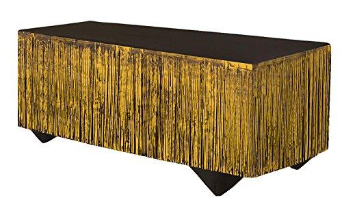 Forum Novelties 76183 Party Supplies Tinsel Fringe Table Skirt, 144