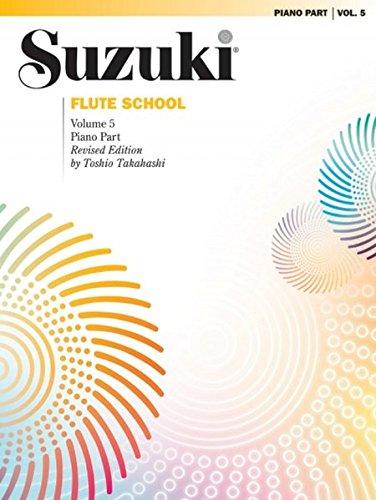 Flute Music French Composers - Suzuki Flute School, Vol 5: Piano Acc.