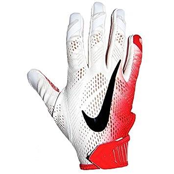 Nike Vapor Knit Gloves - White   Red 2b27d84fa