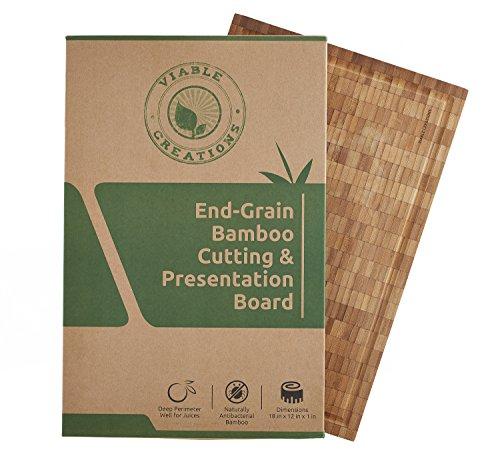 Large Wood Cutting Board Presentation product image