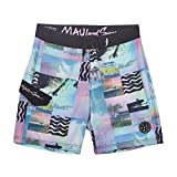 Maui and Sons Mens Like That 4-Way Stretch Boardshort (36, Pink)
