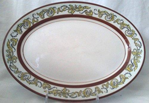 Oval Platter Mayer China Kirkwood Pattern, Mayer China Restaurant Platter, Restaurant Plate ()