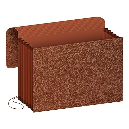 Pendaflex Premium Reinforced 5 inch Expansion Wallets, Legal Size, Red Fiber(60575) ()