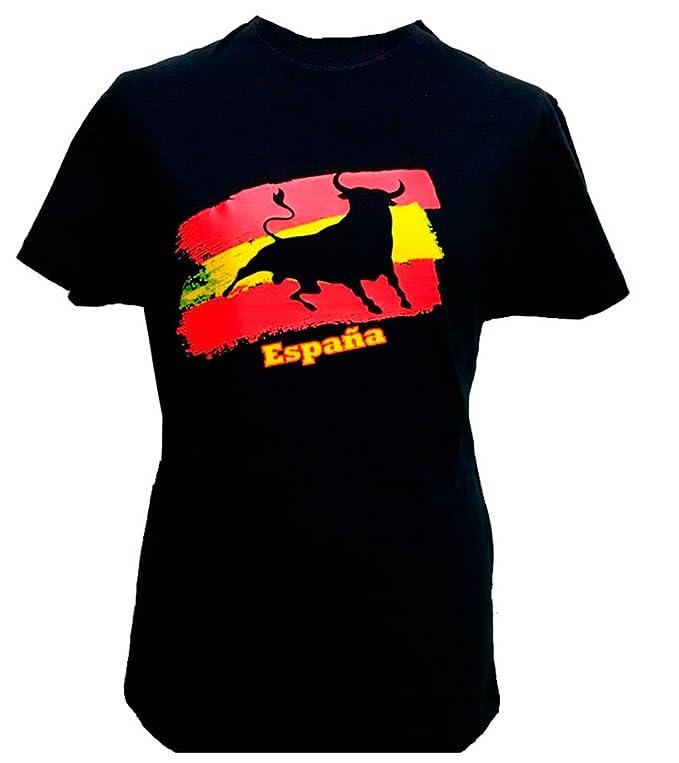 Camiseta Bandera de España toro