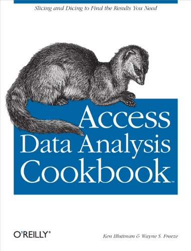 Access Data Analysis Cookbook: Slicing and Dicing to Find the Results You Need PDF