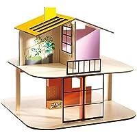 Djeco–Puppenhaus –Haus Farbe–leer