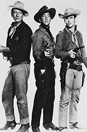 John Wayne Dean Martin Ricky Nelson Rio Bravo 24x36 Poster ...