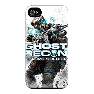 AlissaDubois Iphone 4/4s Shock Absorption Hard Cell-phone Cases Customized Fashion Rise Against Pictures [MRE623KgDt]