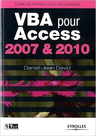 vba pour access 2003