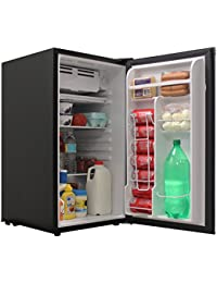 Glaros 3.2 cu. ft. Compact Refrigerator with Freezer