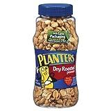 Planters Dryroast Peanuts 16oz