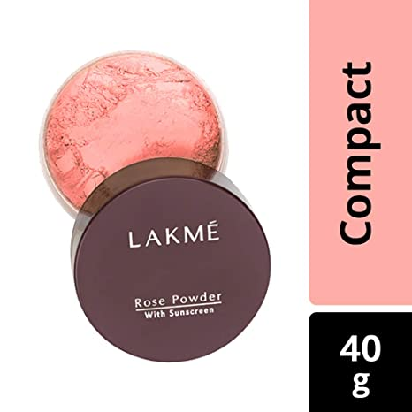 Buy Lakme Rose Face Powder, Warm Pink, 40g Online at Low Prices in India - Amazon.in