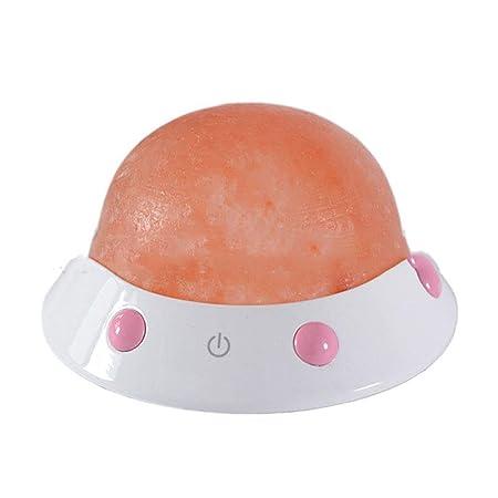 Sumferkyh-lt USB Planet Lámpara de Sal Nave Espacial de ...
