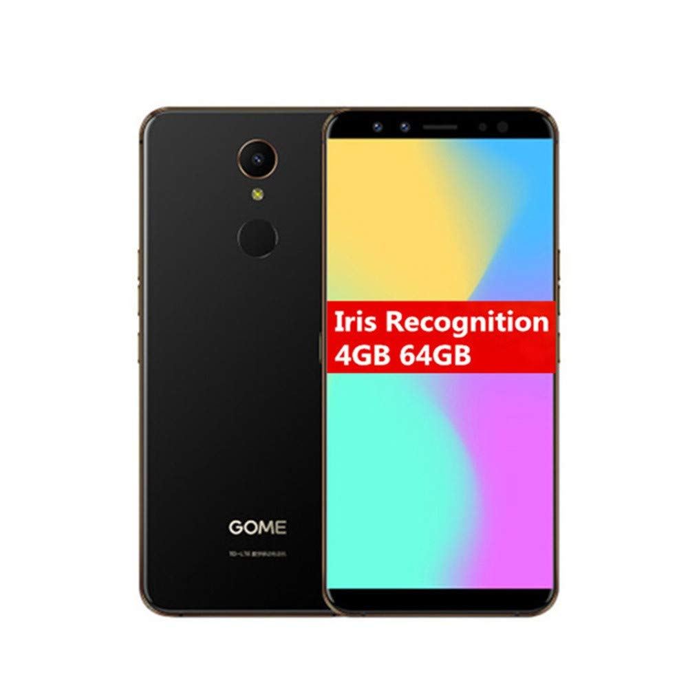 Cell Phones with Face & Iris Recognition, 5.47'' Unlocked Smartphone with Fingerprint Reader- 64GB Android 7.1