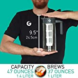 Coffee Gator Cold Brew Kit - Brewer with Scoop