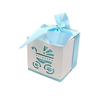 Caja de Dulces, Lance Home 50pcs Fiesta de Bienvenida al Bebé Cochecito Candy Cajas De