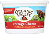 ORGANIC VALLEY: Organic Cottage Cheese Small Curd, 16 oz