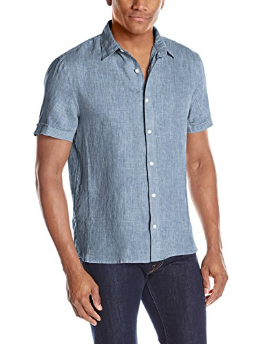 Perry Ellis Short Sleeve Solid