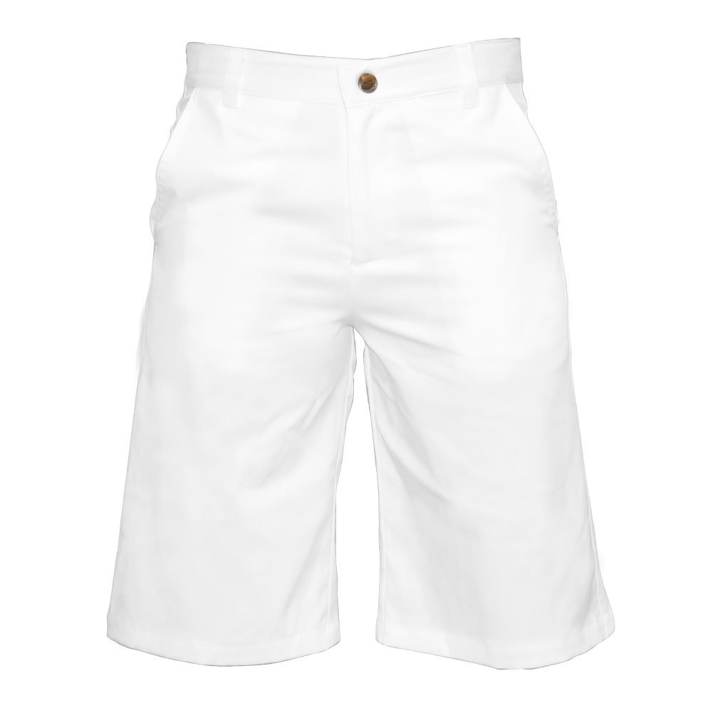 Garb Little Boys Zach Performance Golf Shorts Medium White