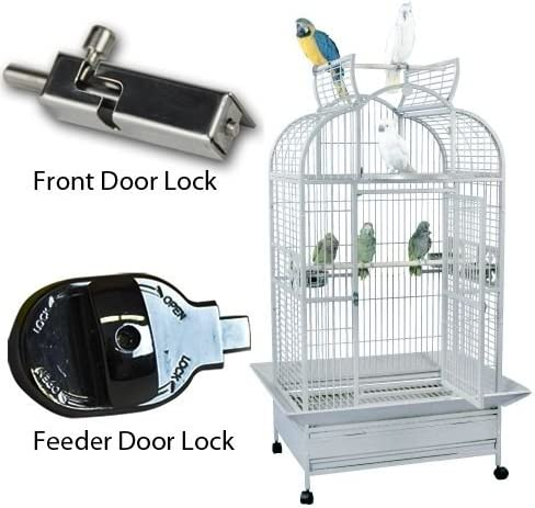 King s Cages SLT 3628 GC6-3628 Large Parrot Cage Parrots Cages 36x28x69 Bird Toy Toys African Grey Lorie