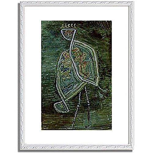 パウルクレー 「Phoenix coniugalis. 1932. 」 インテリア アート 絵画 壁掛け アートポスター フレーム:装飾(白) サイズ:L (412mm X 527mm) B00PB8K8O4 3.L (412mm X 527mm)|6.フレーム:装飾(白) 6.フレーム:装飾(白) 3.L (412mm X 527mm)