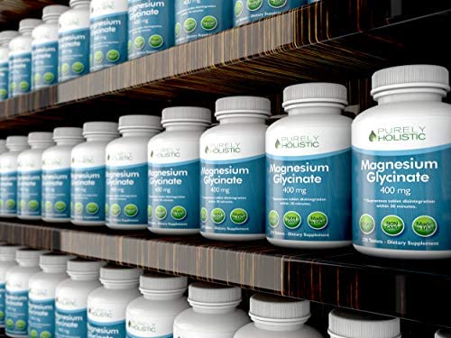 Magnesium Glycinate 400mg - 100% More 270 Magnesium Tablets (not Capsules), Highly Bioavailable, Non Buffered, Vegan and Vegetarian - Improved Sleep, Stress Relief & Cramp Defense 6