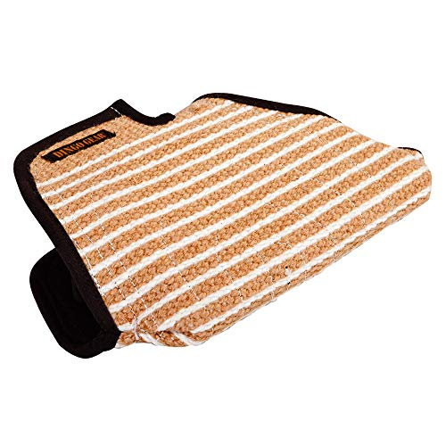 DINGO GEAR Short Sleeve for Bite Training Handmade of Jute for Decoy Right and Left Hand Medium Hardness Fred ()