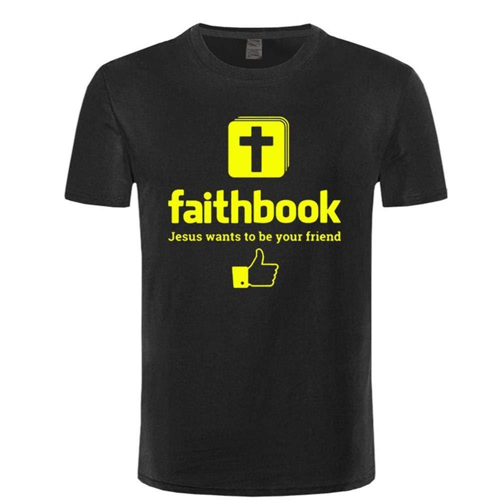 Faitok Corta Jesus S T Shirt Printing Short Sleeve Tee