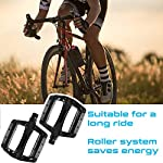 Sugelary-Pedali-per-Bici-Mountain-Bike-Universali-Pedali-Bici-DU-Pedali-MTB-Resistenti-e-Antiscivolo-Pedali-a-Piattaforma-Larga-per-Mountain-Bike-da-916BMX-Bici-da-Strada-Pieghevole-ECC