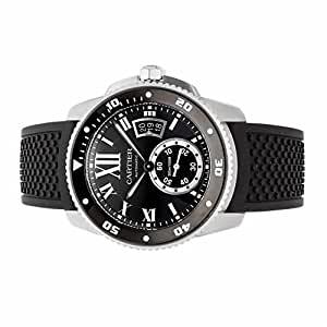 Cartier Calibre de Cartier automatic-self-wind mens Watch W7100056 (Certified Pre-owned)