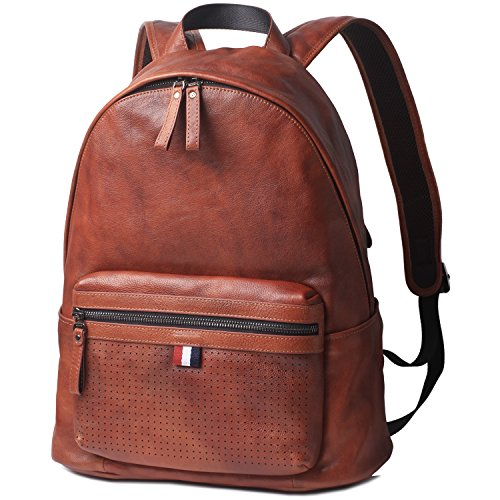 Premium Leather Backpack (15