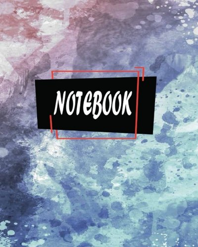 """Notebook: Journal Dot-Grid,Graph,Lined,Blank No Lined : Beautiful Watercolor Background with Splatters : Notebook Journal Diary, 120 pages, 8"""" x 10"""" (Blank Notebook Journal) PDF"""