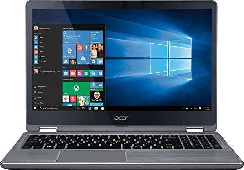 """Click to buy Acer Aspire 2-in-1 15.6"""" FHD IPS Touchscreen Laptop - 8GB RAM, 1TB Solid State Drive, Intel Core i7-7500U, NVIDIA GeForce 940MX 2GB, Backlit Keyboard, HDMI, Bluetooth, Windowns10 Aluminum Chassis - From only $1370.99"""
