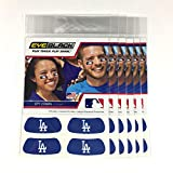(24 Strips) Eye Black - Los Angeles Dodgers Blue MLB Eye Black Anti Glare Strips, Great for Fans & Athletes on Game Day