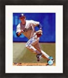 Autographed Khalil Greene Picture - 8x10) #2 Matted & Framed - Autographed MLB Photos