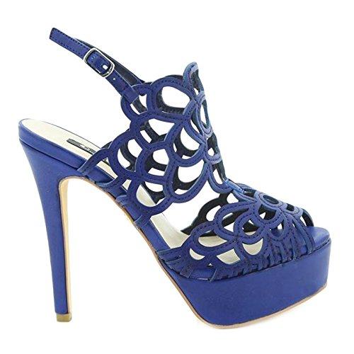 Toocool Femme Bleu À Brides Chaussures nfraBRn