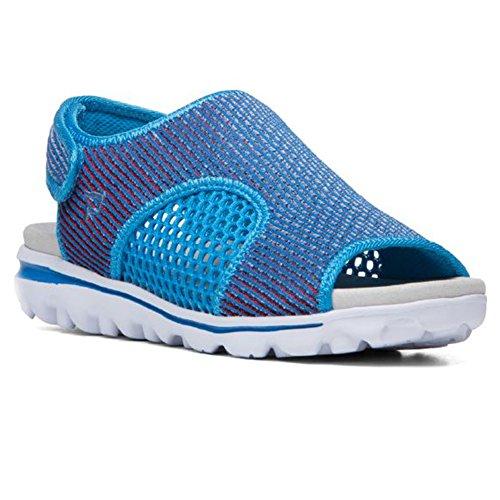 Red TravelActiv Blue White Propet Ss Women's Sandal XawnXq5T8