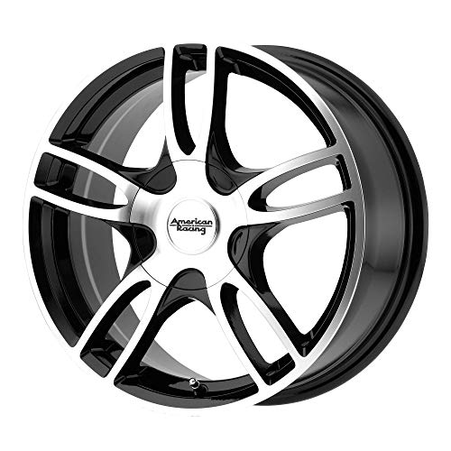 American Racing AR919 Сustom Wheel - Estrella 2 Gloss Black with Machined Face 17